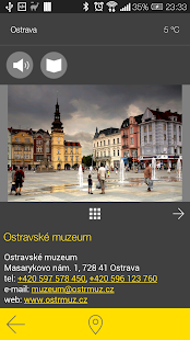 Ostrava - audio tour- screenshot thumbnail