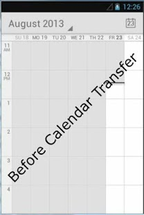 Outlook Calendar Transfer Sync - screenshot thumbnail