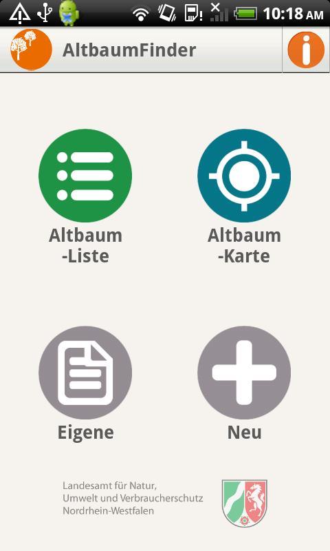 AltbaumFinder- screenshot