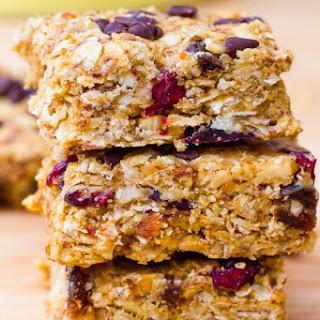Peanut Butter Trail Mix Bars
