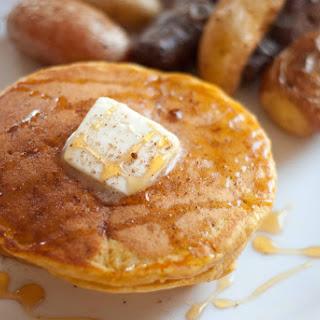 Whole Wheat Pumpkin Pancakes.