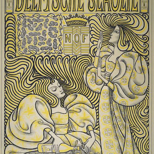 Art Nouveau In Het Rijksmuseum.Poster For Delft Salad Oil Jan Toorop 1894 Rijksmuseum