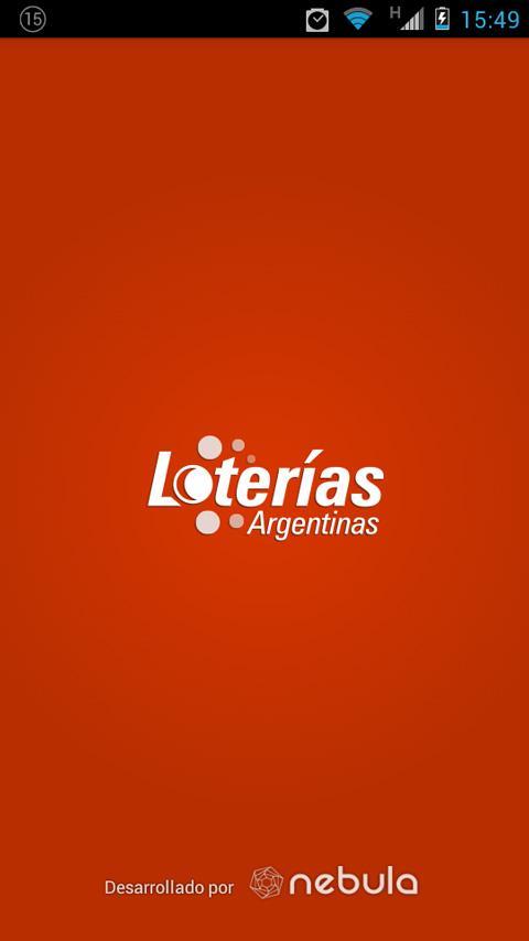 Loterías Argentinas - screenshot