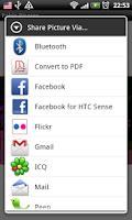 Screenshot of Mobile Artist.