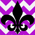 Fleur De Lis Purple Theme icon