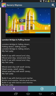 Nursery Rhymes Video & Lyrics- screenshot thumbnail