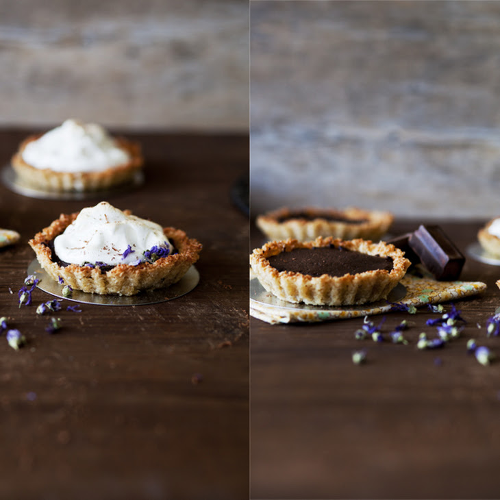 Chocolate and Coconut Pie