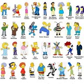 Simpsons characters' draw