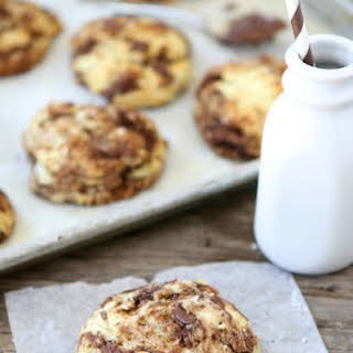 Easy drop biscuits with a sweet Nutella swirl!.