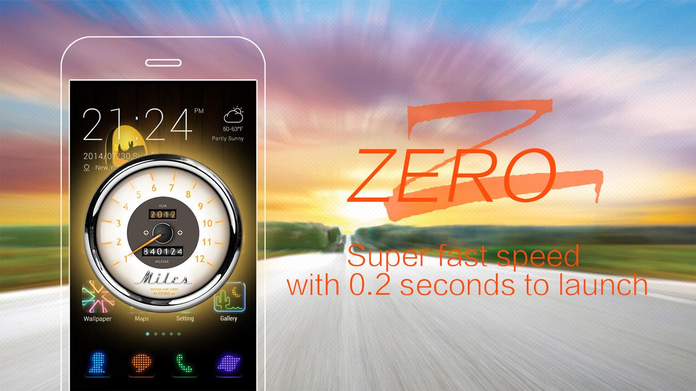 ZERO Launcher - Small,Fast