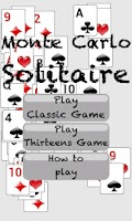 Screenshot of Monte Carlo Solitaire Free