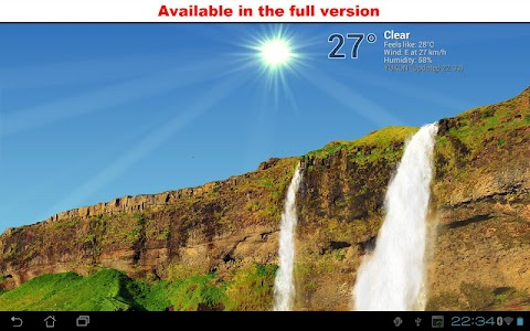 True Weather, Waterfalls FREE screenshot 3