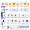 Blue Porcelain Emoji Keyboard APK