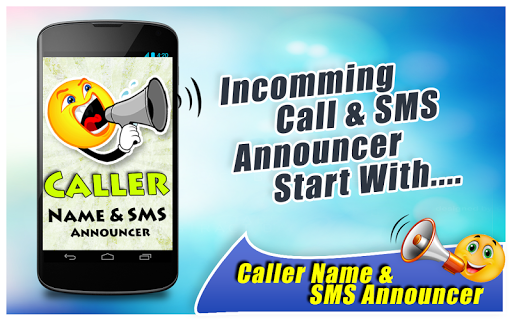 Caller Name And SMS Announcer