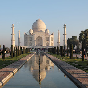Wonder how beautiful a wonder would be! by Srivenkata Subramanian - Buildings & Architecture Public & Historical ( shah jahan, symbol of love, taj mahal, india, monument,  )