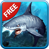 3D Sharks Live Wallpaper Lite