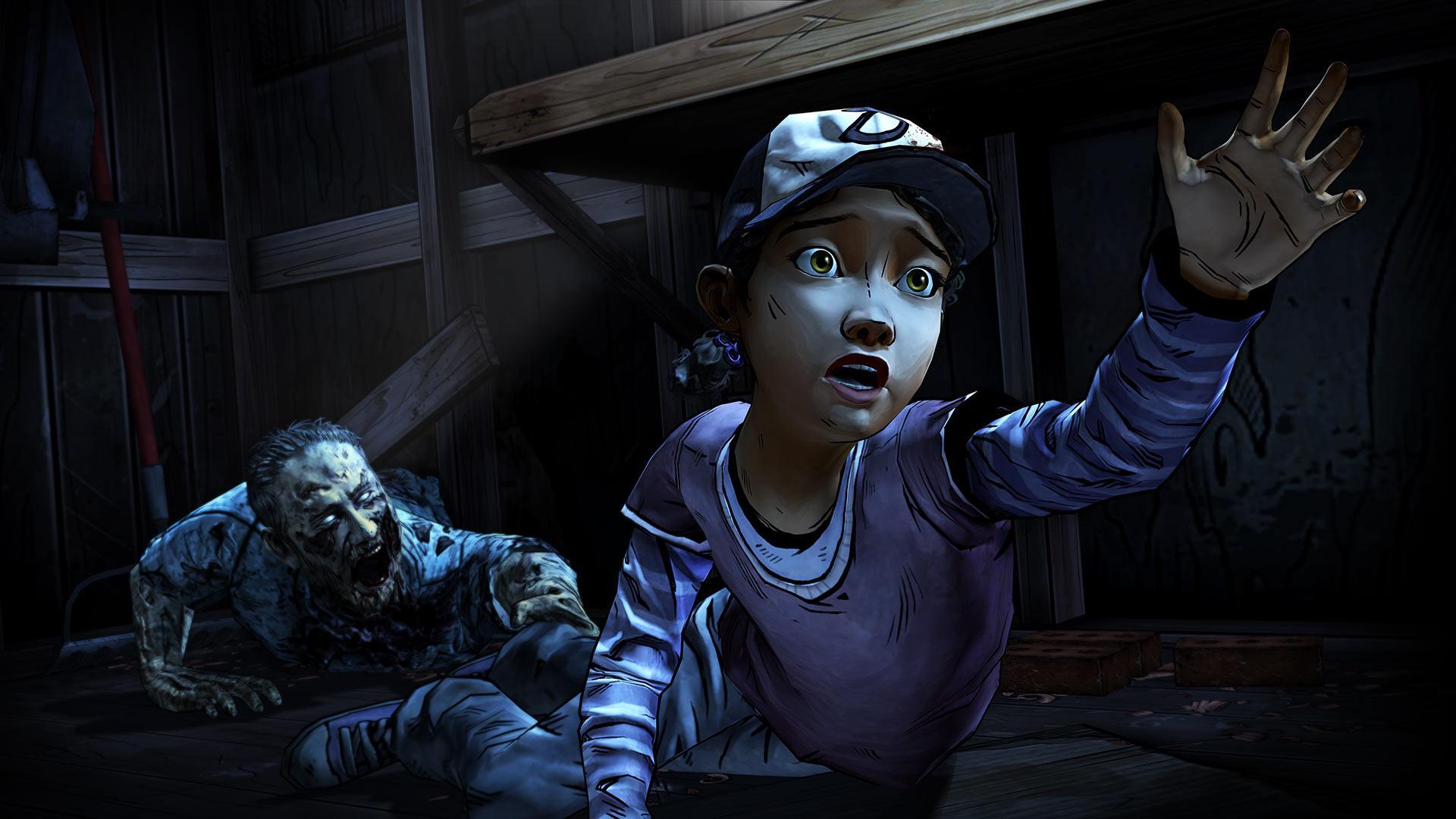 The Walking Dead: Season Two screenshot #4