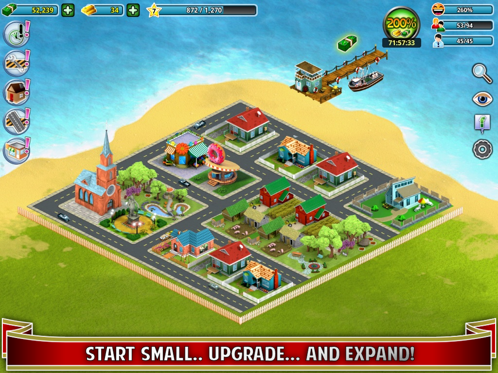 City island builder tycoon android apps on google play Build a house online free