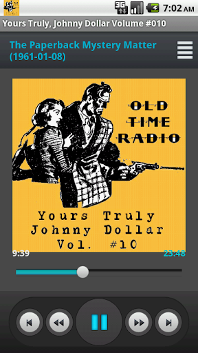 Yours Truly Johnny Dollar V.10