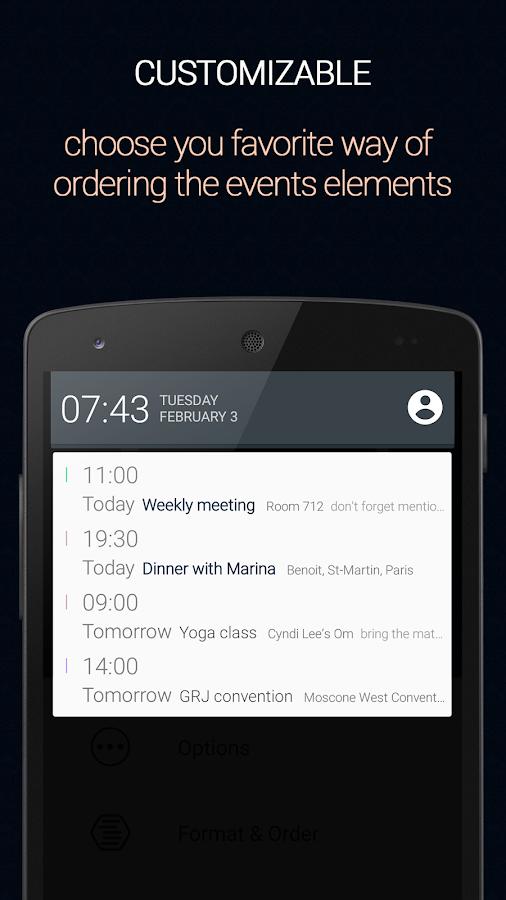 Calendar Status Pro - screenshot