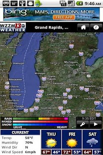 WZZM 13 WX - screenshot thumbnail