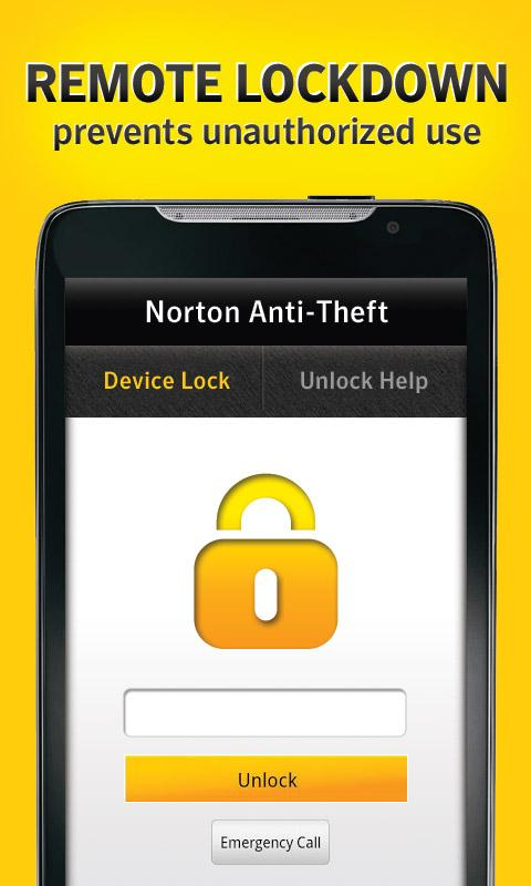 Norton Anti-Theft - screenshot