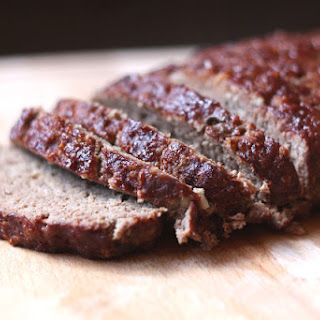 Meatloaf with Balsamic Glaze