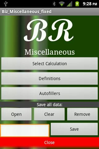 Biz Miscellaneous fixed - screenshot