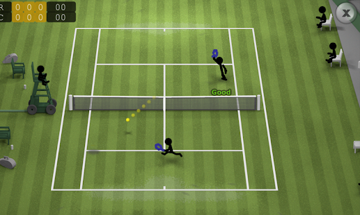 Stickman Tennis- screenshot thumbnail