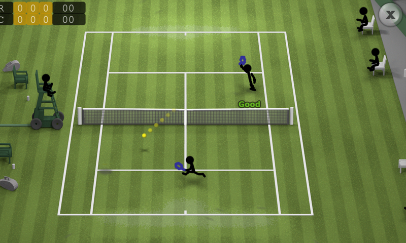 Stickman Tennis- screenshot
