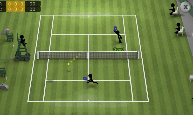 Stickman Tennis screenshot #12