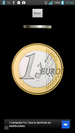 正面或反面 1€