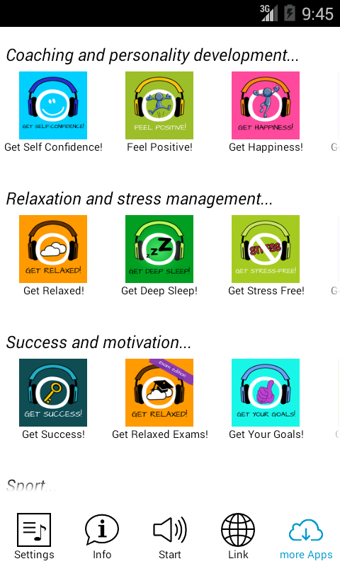 Get Your Goals! Hypnosis - screenshot
