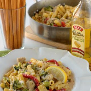 Skillet Ziti with Chicken & Broccoli