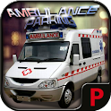 City parking 3D - Ambulance
