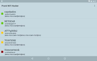 Screenshot of Prank WiFi Hacker