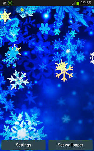 Happy Snowflake HD Winter LW