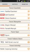 Screenshot of Gazetelik   Gazeteler Haberler