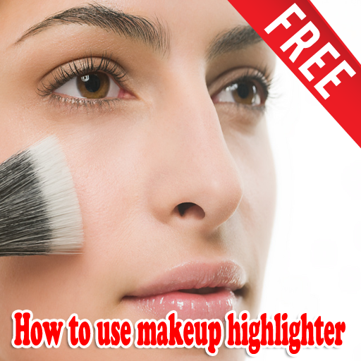 How to use makeup highlighter