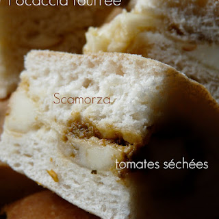 Scamorza and Sundried tomato Focaccia