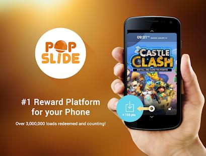 PopSlide: Get Free Mobile Load - screenshot thumbnail