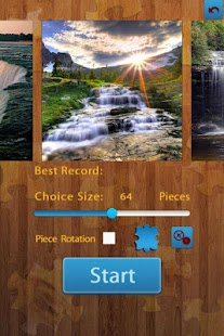 Waterfall Jigsaw Puzzles - náhled