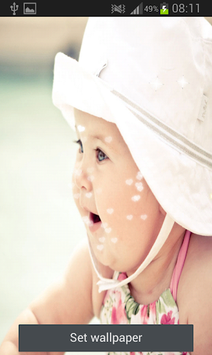 Baby Live Wallpaper
