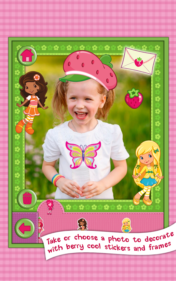 Strawberry Shortcake Dress Up - screenshot