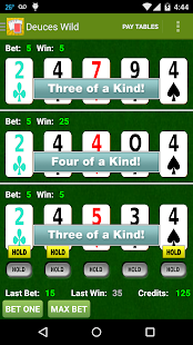 Awesome Triple Video Poker- screenshot thumbnail