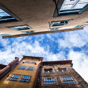 Sky by Marta Felgueiras - Buildings & Architecture Public & Historical ( sky, buildings, portugal, porto, ceu )