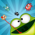 Catch the insects frog icon