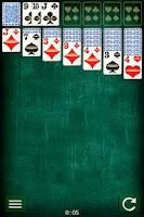 Screenshot of Klondike Solitaire Card Game