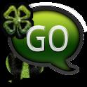 GO SMS THEME/StPatricksZebra logo