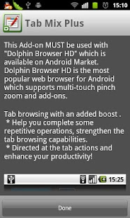 Dolphin Tab Mix Plus - screenshot thumbnail